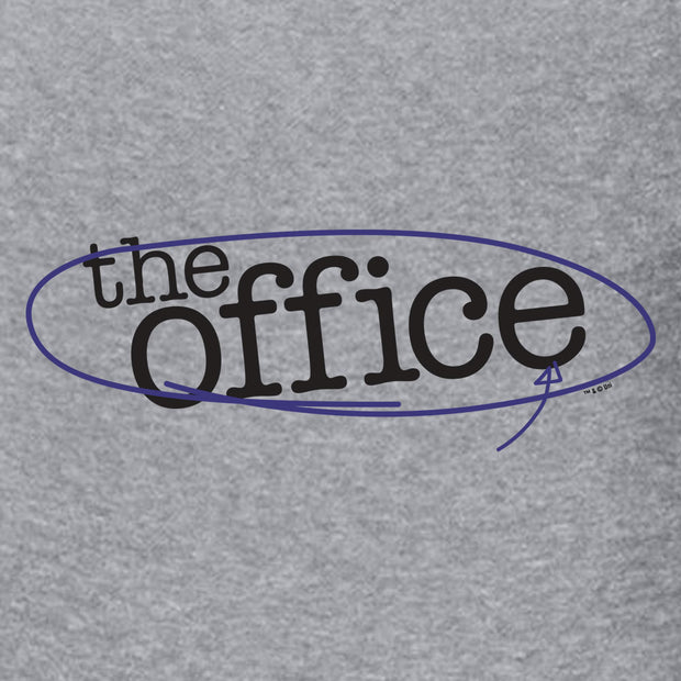 The Office Circled Logo Crew Sweatshirt