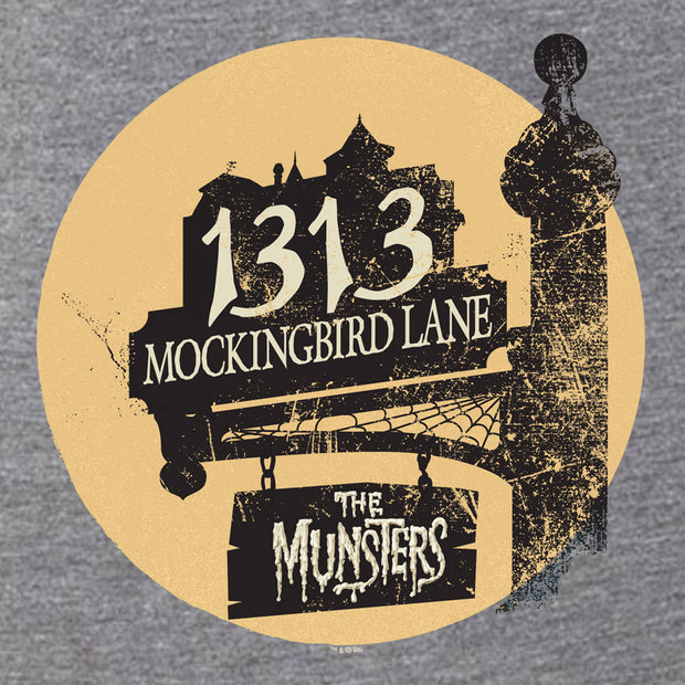 The Munsters Moonlit Address Women's Tri-Blend Short Sleeve T-Shirt