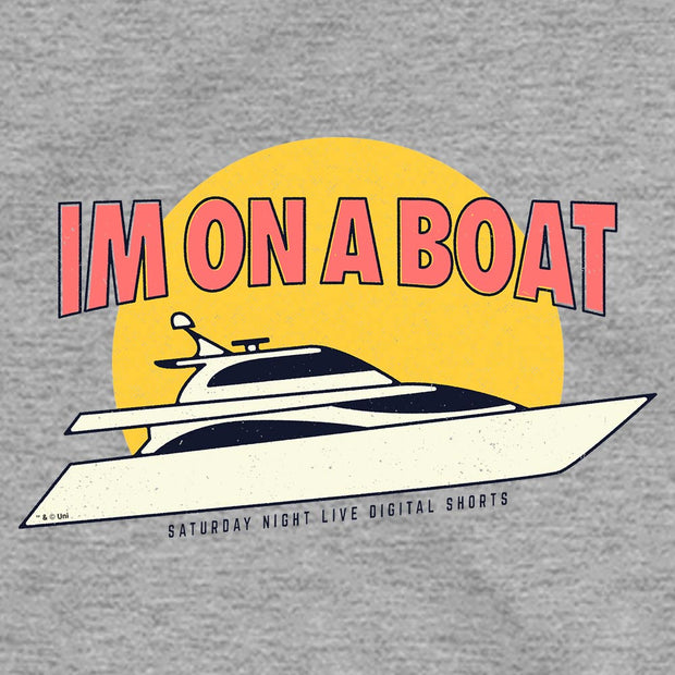 Saturday Night Live I'm on a Boat Women's Short Sleeve T-Shirt