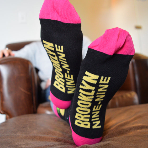 Brooklyn Nine-Nine Pineapple Slut Socks