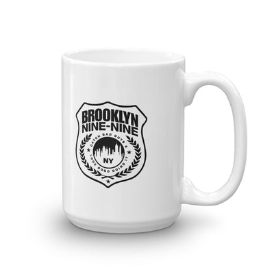 Brooklyn Nine-Nine Badge White Mug