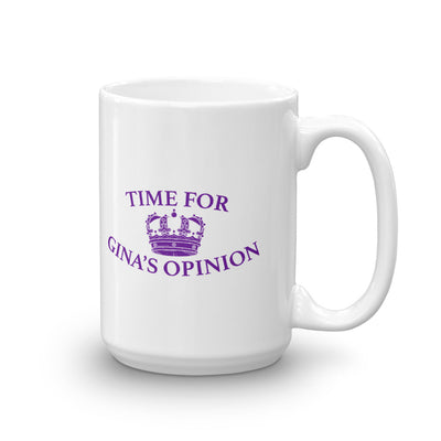 Brooklyn Nine-Nine Gina's Opinion White Mug