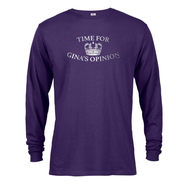 Brooklyn Nine-Nine Gina's Opinion Long Sleeve T-Shirt