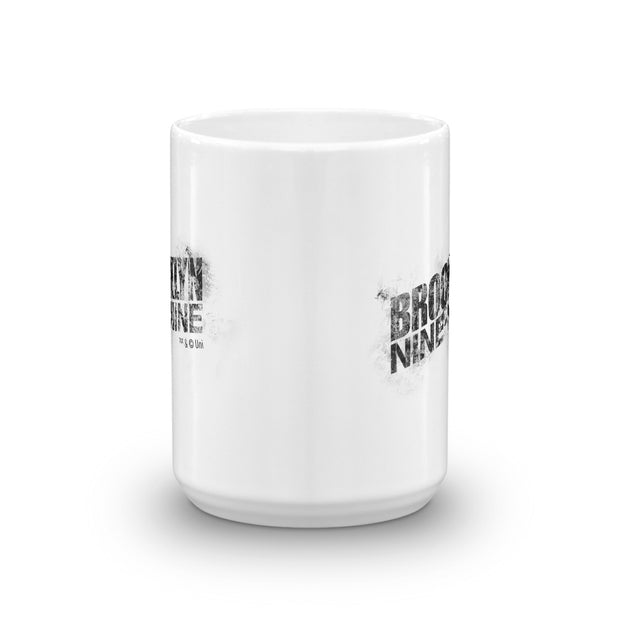 Brooklyn Nine-Nine Logo  White Mug