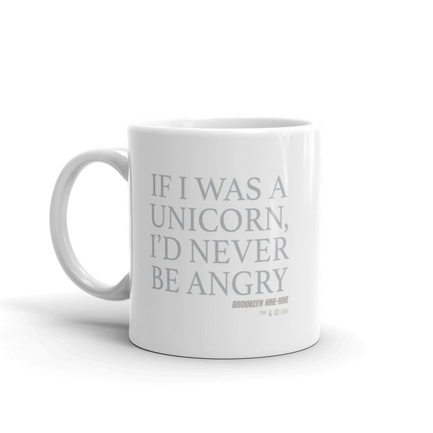 Brooklyn Nine-Nine If I was a Unicorn White Mug