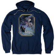 Battlestar Galactica Poster Iron On Hooded Sweatshirt