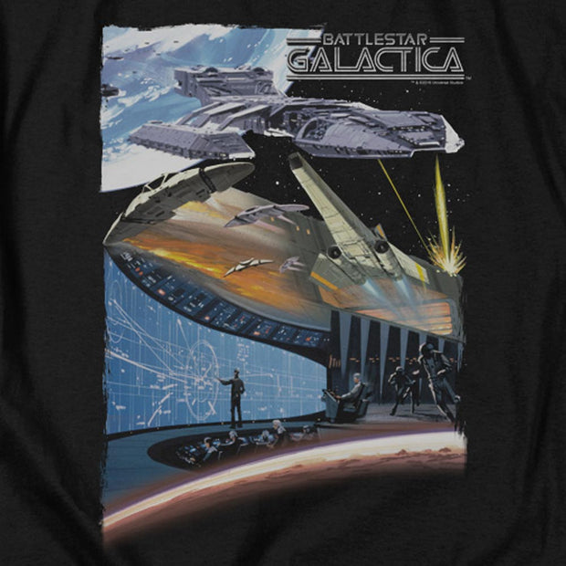 Battlestar Galactica Concept Art Long Sleeve T-Shirt