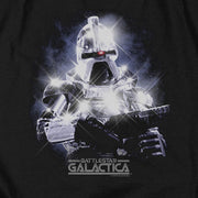 Battlestar Galactica Cylon Heather Black Short Sleeve T-Shirt