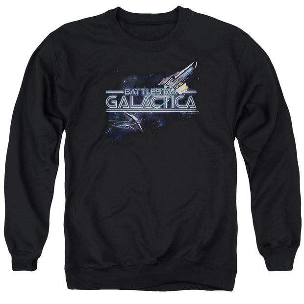 Battlestar Galactica Cylon Pursuit Crew Neck Sweatshirt