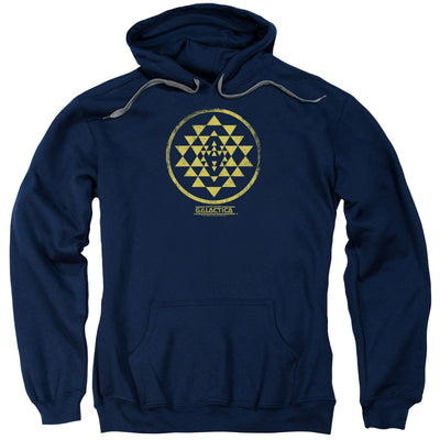 Battlestar Galactica Gold Squadron Patch Hooded Sweatshirt