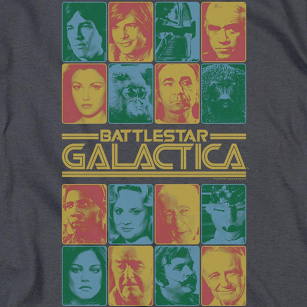 Battlestar Galactica 35th Anniversary Cast Hooded Sweatshirt