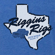 Friday Night Lights Riggins Rigs Unisex Tri-blend Tank Top