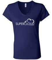 Superstore Supercloud Women's Short Sleeve V-Neck T-Shirt