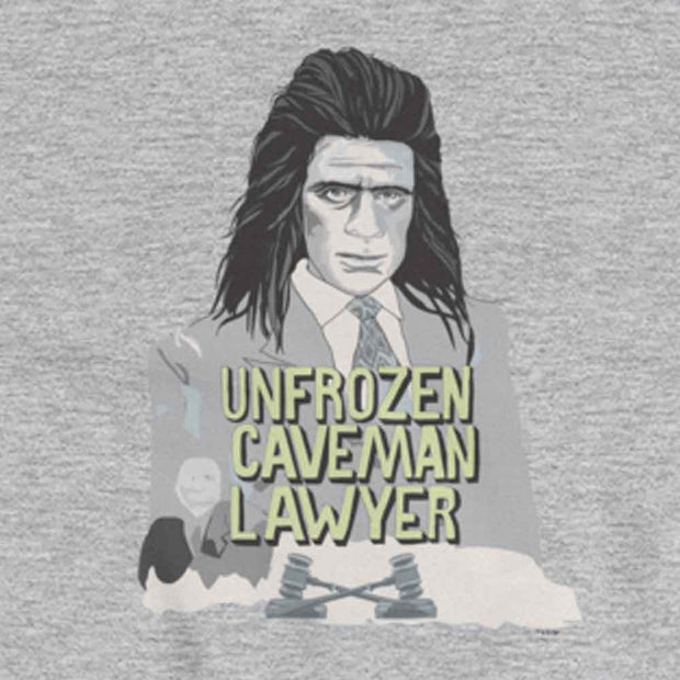 Saturday Night Live Unfrozen Caveman Lawyer Hooded Sweatshirt