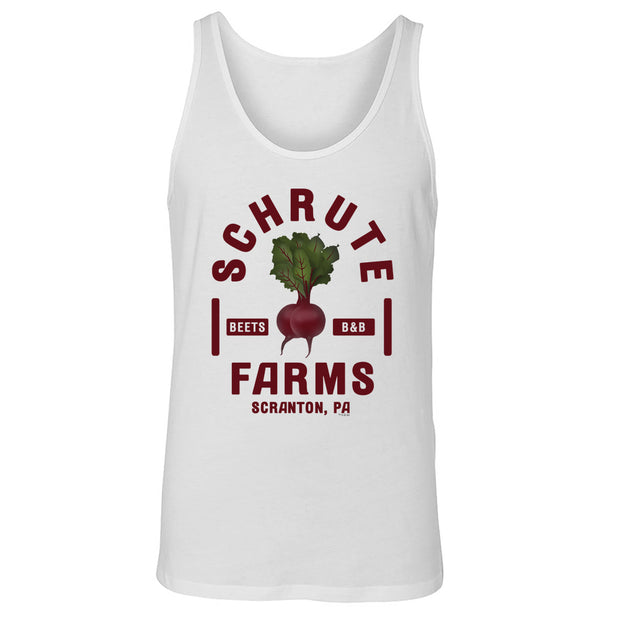 The Office Schrute Farms Unisex Tank Top