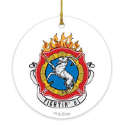 Chicago Fire Fightin' 81 Double-Sided Ornament