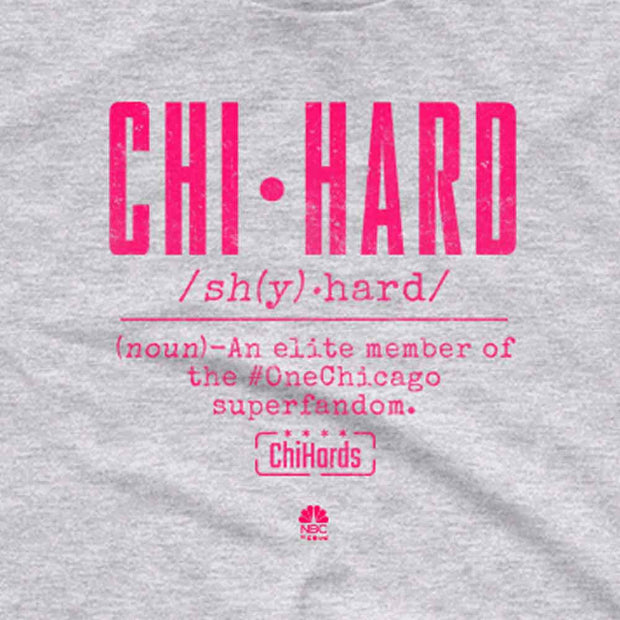 Chi-Hard Definition Men's Short Sleeve T-Shirt