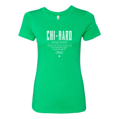 ChiHard Definition St. Paddy's Day Women's T-Shirt