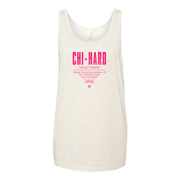 ChiHard Definition Tri-blend Jersey Tank Top