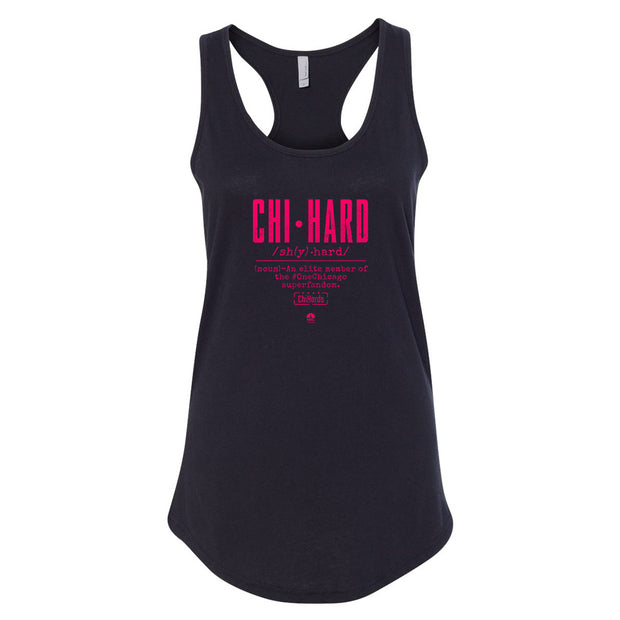 ChiHard Definition Women's Racerback Tank Top