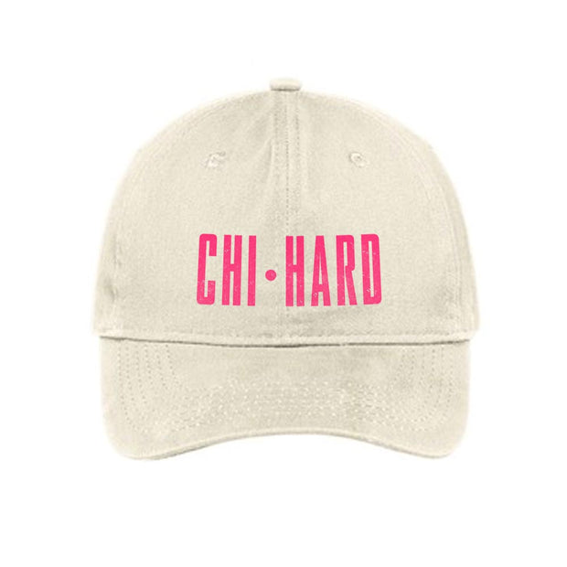 Chi-Hard Embroidered Hat