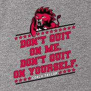 Friday Night Lights Don't Quit on Me Men's Tri-Blend Short Sleeve T-Shirt