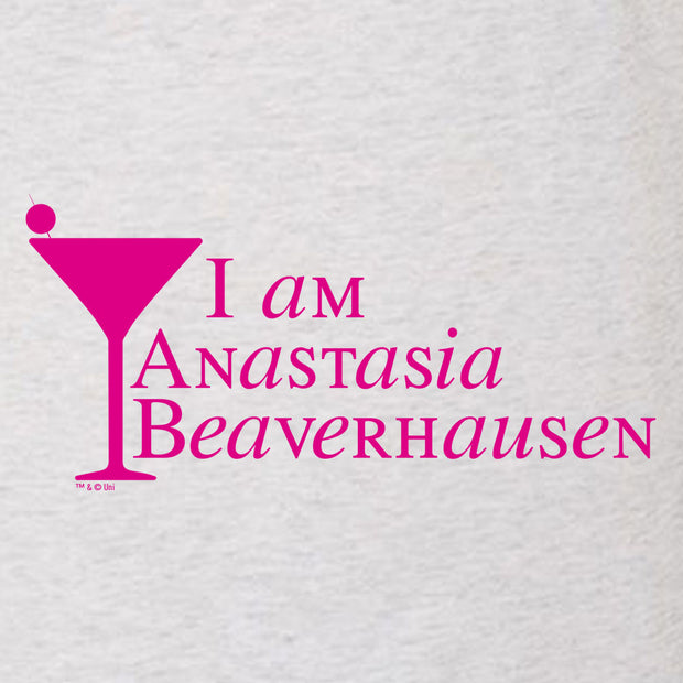 Will & Grace I am Anastasia Beaverhausen Women's Tri-Blend Dolman T-Shirt