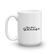 Jay Leno's Garage New Logo White Mug