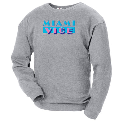 Miami Vice Logo Crew Neck Sweatshirt