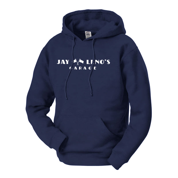 Jay Leno's Garage Original Horizontal Logo  Hooded Sweatshirt