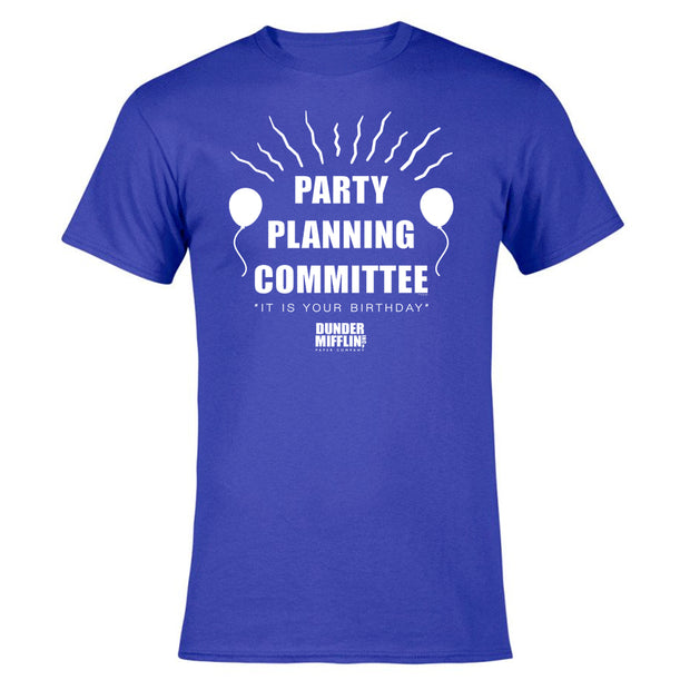 The Office Party Planning Committee Men's Short Sleeve T-Shirt
