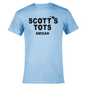 The Office Personalized Scott's Tots Men's Short Sleeve T-Shirt