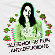 Parks and Recreation Alcohol is Fun and Delicious St. Patrick's Day Men's Short Sleeve T-Shirt