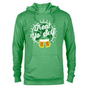 Parks and Recreation Treat Yo' Self St. Patrick's Day Lightweight Hooded Sweatshirt
