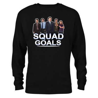 The Office Squad Goals Crew Neck Sweatshirt