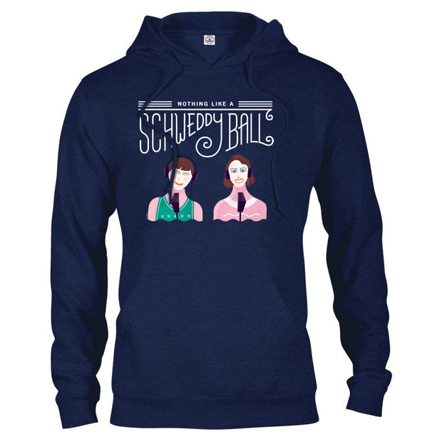 Saturday Night Live Schweddy Ball Hooded Sweatshirt