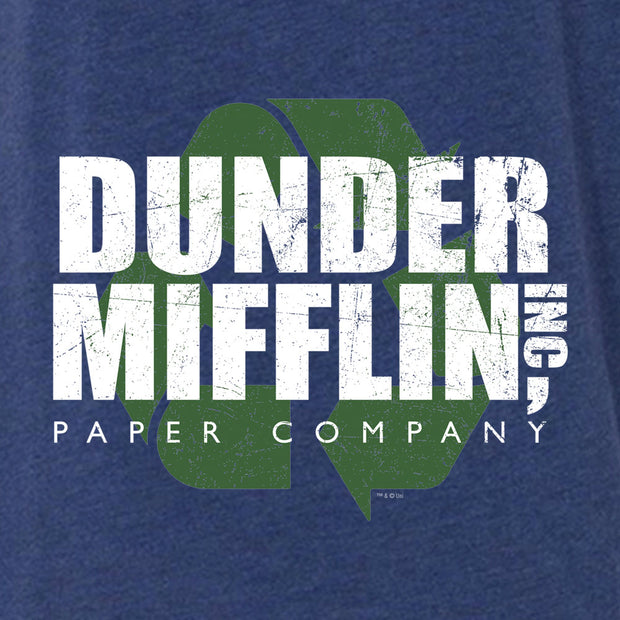 The Office Dunder Mifflin Recycle Women's Relaxed V-Neck T-Shirt