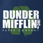 The Office Dunder Mifflin Recycle Women's Relaxed Scoop Neck T-Shirt
