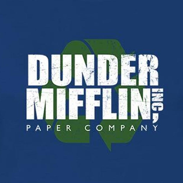 The Office Dunder Mifflin Recycle Women's  Short Sleeve T-Shirt
