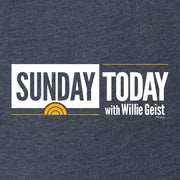 Sunday TODAY with Willie Geist Women's Tri-Blend Dolman T-Shirt