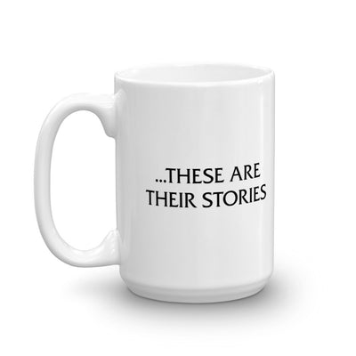 Law & Order These are Their Stories White Mug