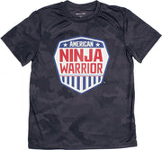 American Ninja Warrior Kids Camo Performance T-Shirt