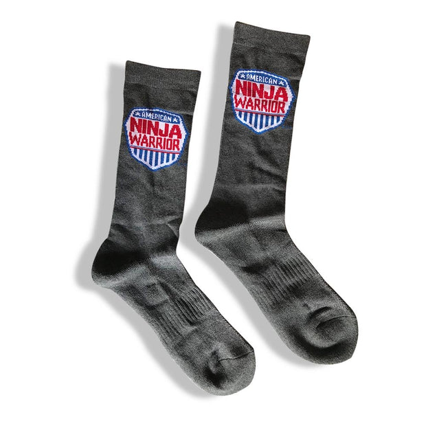 American Ninja Warrior Adult Athletic Crew Socks