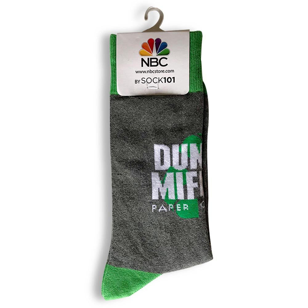 The Office Dunder Mifflin Recycle Custom Knit Socks-secondary-image