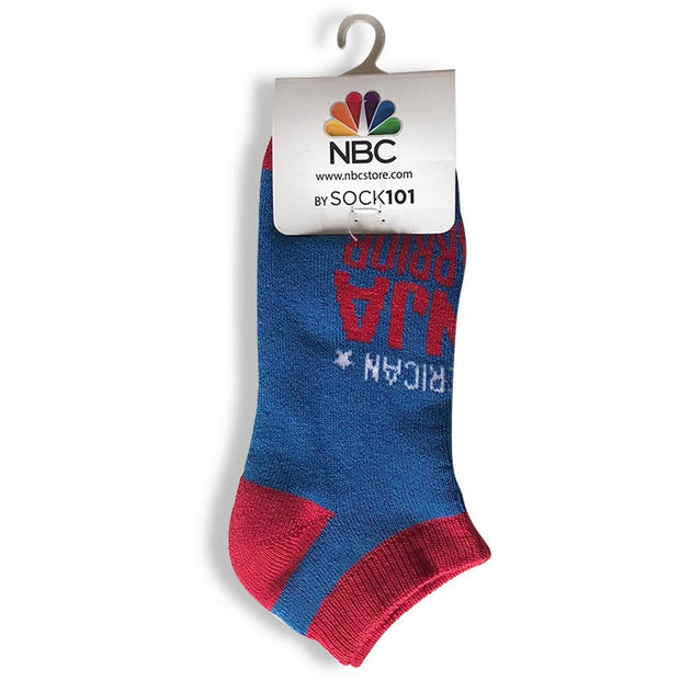 American Ninja Warrior Youth Athletic Low Cut Socks