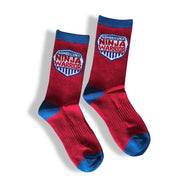 American Ninja Warrior Youth Athletic Crew Socks