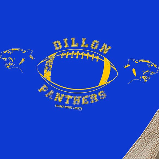 Friday Night Lights Dillon Panthers Sherpa Blanket
