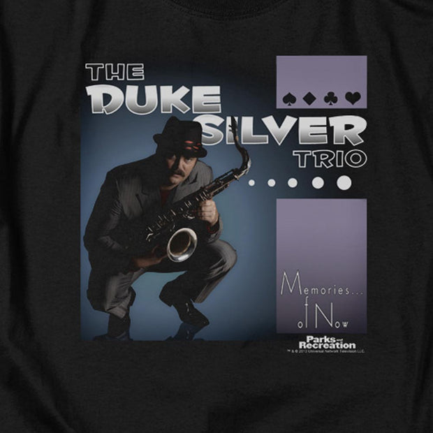 Parks and Recreation The Duke Silver Trio Men's Short Sleeve T-Shirt