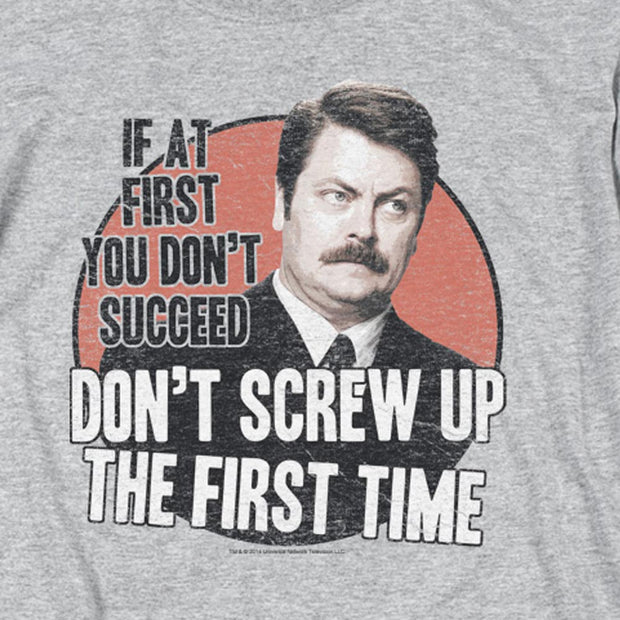 Parks and Recreation Don't Screw Up Tank Top