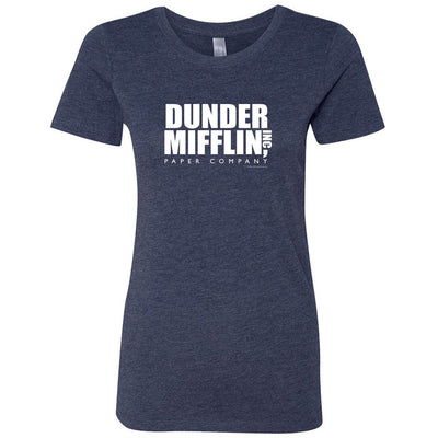 The Office Dunder Mifflin Women's Vintage Tri-Blend Short Sleeve T-Shirt